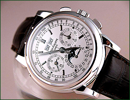 Worldtime repairs Patek Philippe watches